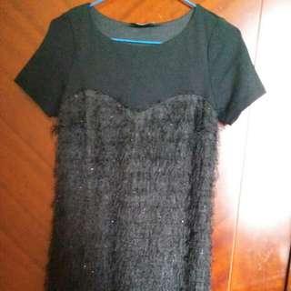 Max Mara Black Dress Autentic