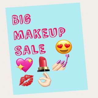 Selling brand new makeup at very cheap prices