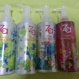 Za Makwup Remover S$20 FOR TWO
