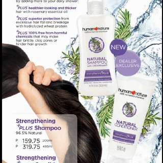 Human Nature Haircare 20% Discount
