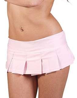 Playboy Bunny Pink Plated Micro Mini Skirt