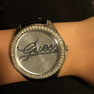 Iced Out Guess Watch