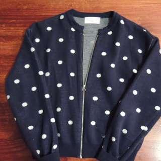 Navy knit Cardigan