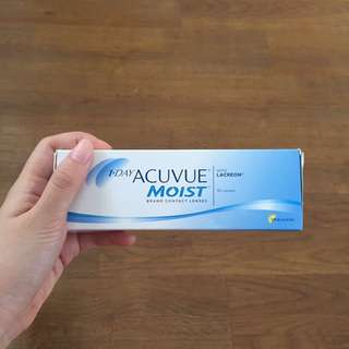 Acuvue Moist Daily Lense