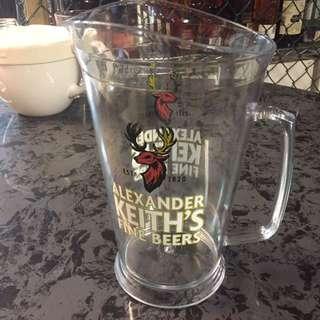 6 brand new alexander Keith's Beer Pitcher