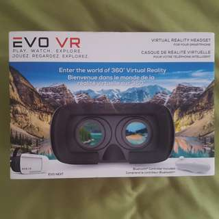 Evo VR - Next Virtual Reality Headset - White