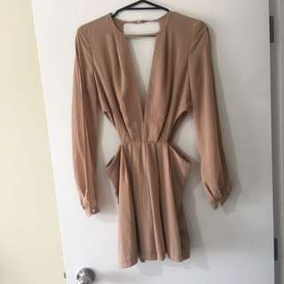 Tan playsuit