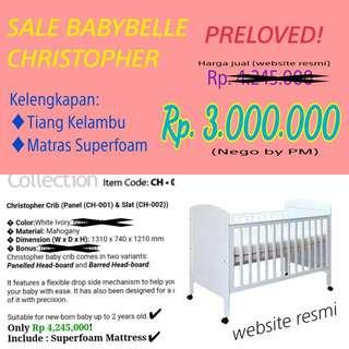 Baby Crib BABYBELLE
