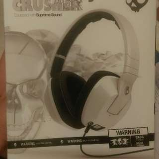 全新 Skullcandy Crusher 白色