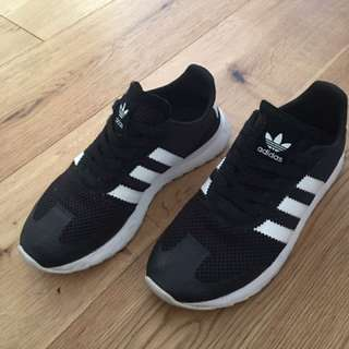 Adidas black new season women's 7.5 sneakers