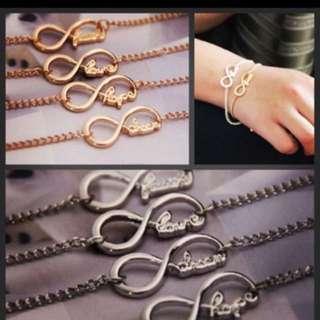 ✨3 For $10✨ Infinity Bracelet