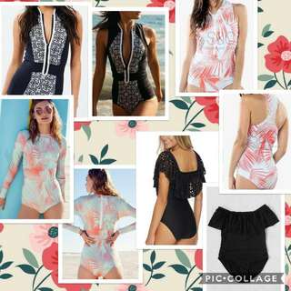 Swimsuits/Rash Guards