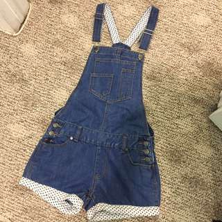 $10 Denim Romper