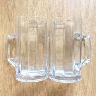 Beer Mugs 2pcs
