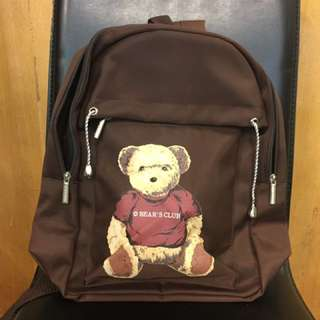 ESPORRE 復古 泰迪熊 韓國帶回的後背包 #含運最划算