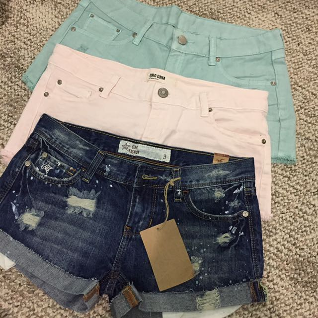 $10 for 3 shorts