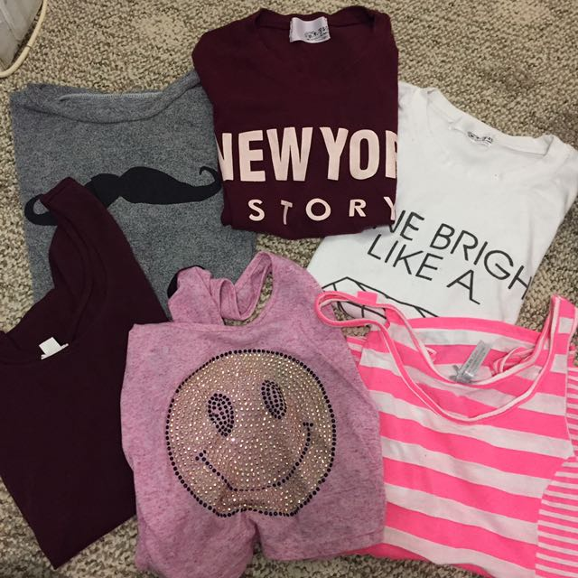 $10 for 6 tops