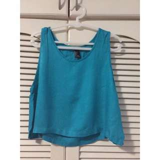 Forever 21 Semi Cropped Top