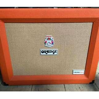 Orange crush pro amplifier