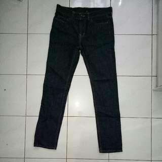 Celana Pajang jeans WOOD