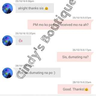 Proof of Transaction!✌