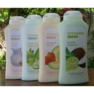 Intimate Natural Lotion 590ml