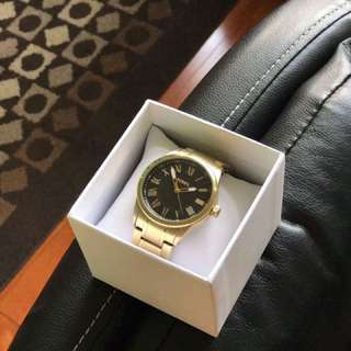 Gold Mens Fossil Watch