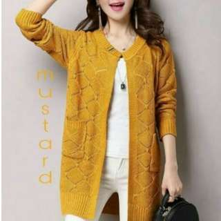 Cardigan Rajut All Size