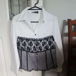 Beautiful Girls Blouse Size 14