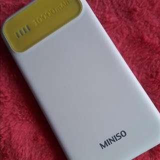 Miniso Powerbank 10,000 Mah