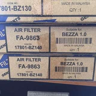 AIR FILTER PERODUA BEZZA 1.0