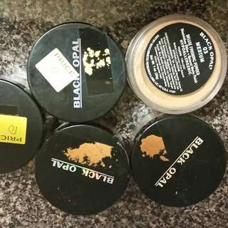 Black Opal Powder 10. 00 Each Or All 5 For 40