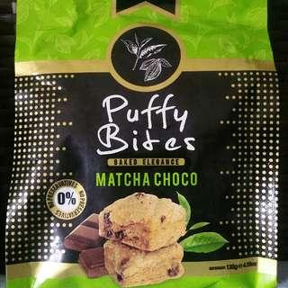 To Bless: Puffy Bites Matcha Choco