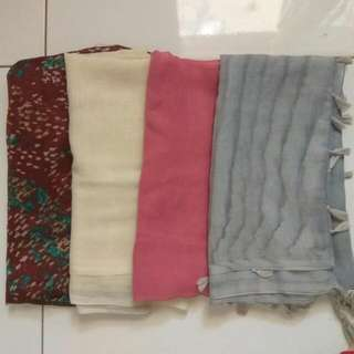 TAKE ALL , 4 PCS JILBAB
