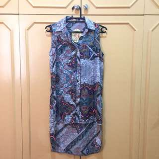 Never Used New Look / Cameo Rose tunic sleeveless top