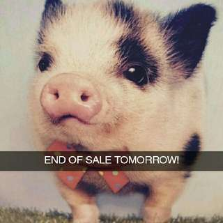 End Of Sale!