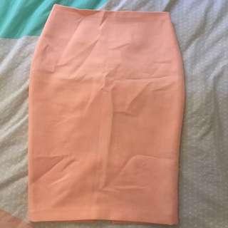 Peach Sportsgirl Skirt. Size 10