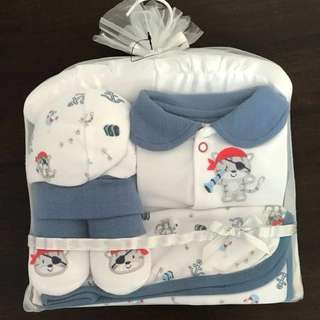 Baby gift sets: Pirate cat