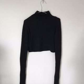 French Connection Cropped Knit- Size XS