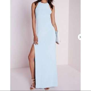 🍀Missguided Powder Blue Formal Dress