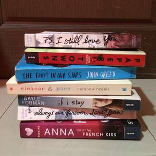 Preloved books for Php 300 each!