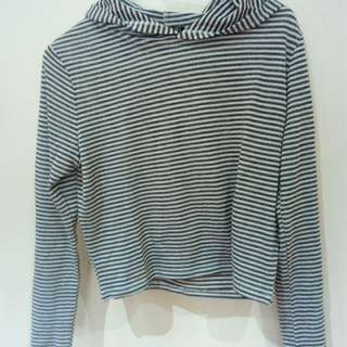 Cropped Hoodie Size Small