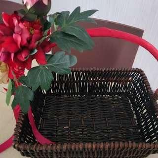 Flowers Or Fruits Basket
