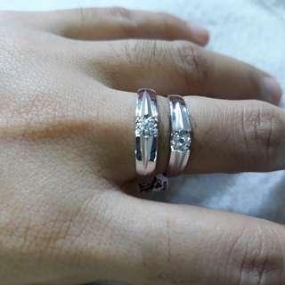 18k Whitegold Wedding Ring