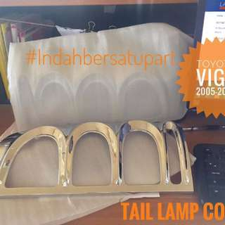 TAIL LAMP COVER SET LH/RH FOR VIGO 2005-2009