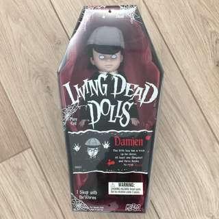 """LIVING DEAD DOLLS """"DAMIEN """"英倫風小鬼"""