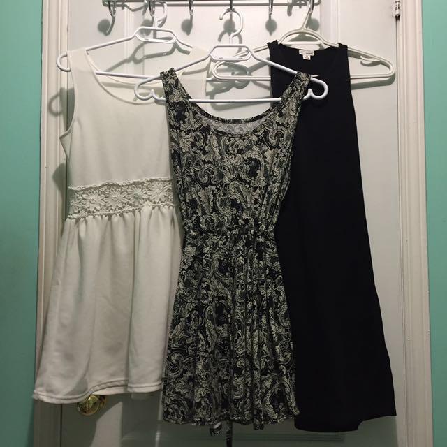 $15 for 3 dresses