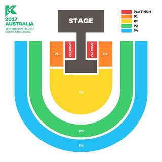KCON SATURDAY P3 TICKET