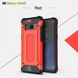 Samsung Galaxy Note 8 Red Tough Armour Case Casing