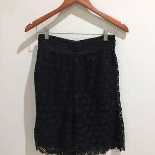 Lace Black Short -NEW